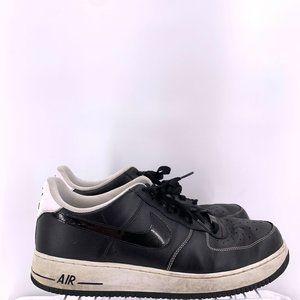 Nike Air Force 1 Low Black White Men's Size 14